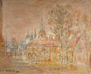 Henryk KRYCH (1905-1980), Zamek [Królewski w Warszawie], [1977]