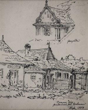 Tadeusz RYBKOWSKI (1848-1926), Czarna Wieś, [1884]