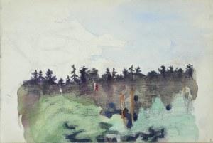 Włodzimierz TETMAJER (1861 – 1923), Szkic pejzażu, [ok. 1907]
