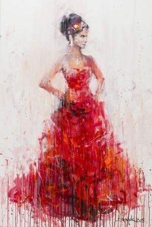 Dariusz Grajek (1964), Czerwona sukienka (2015)