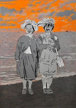Artur Trojanowski, Pocztówka z nad morza, z cyklu Thank's @ diana arbus and friends, 2011