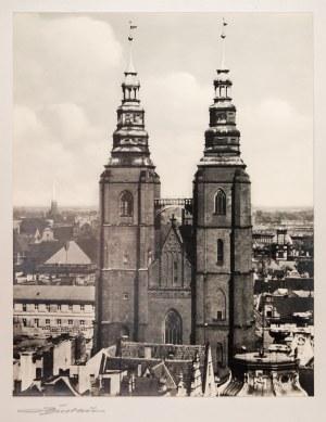 WROCŁAW. Kościół św. Marii Magdaleny; anonim, ok. 1925; fot. cz.- ...