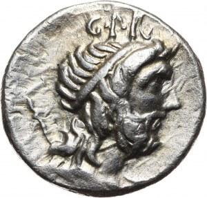 Republika Rzymska, Cornelius Lentulus Marcellinus, denar 76-75 p.n.e., Hiszpania