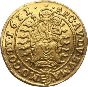 Węgry, Ferdynand II, 2 dukaty 1631 KB, Kremnica