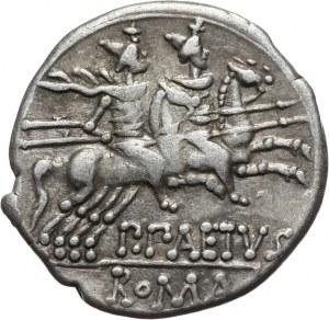 Republika Rzymska, P. Aelius Paetus, denar 138 p. n. e., Rzym