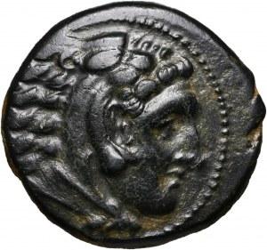 Macedonia, Aleksander III Wielki 336-323 p.n.e., brąz