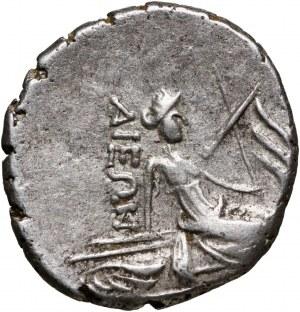 Grecja, Eubea, Histiaia, tetrobol III-II wiek p.n.e.