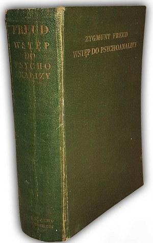 FREUD- WSTĘP DO PSYCHOANALIZY wyd.1 z  1935