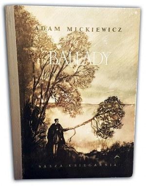MICKIEWICZ- BALLADY ilustr. Szancer