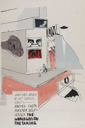 Sławomir CZAJKOWSKI [ZBIOK] (ur. 1982), City kids, 2012