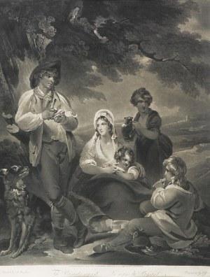 Joseph GROZER (1755-1799), Odpoczynek - The Peasant's repast - Le repas du Paysant, 1798