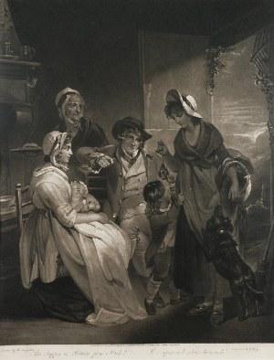 Joseph GROZER (1755-1799), The Supper Or Return From Market, 1798