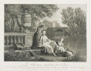 Antoine Charles Horace VERNET zw. CARLE (1758-1836) - według, Zabiegi kosmetyczne Greczynki, II poł. XVIII w.