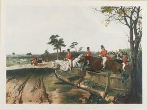 John Frederick I HERRING (1795-1865) - według, Polowanie na lisa