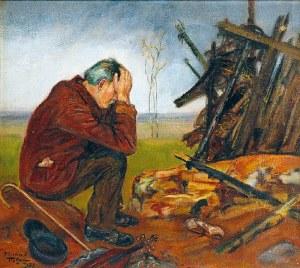 Wlastimil HOFMAN (1881-1970), Po pożodze, 1953