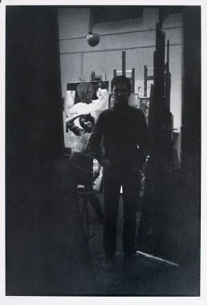 Aleksander MITKA (ur. 1946), Pracownia malarska Tadeusza Kantora ASP Kraków 1968 (Igor Mitoraj i Małgorzata Varisella), 1968/2003