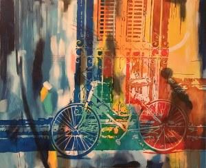 Joanna Szumska, 1965, Summer in the city, 2017