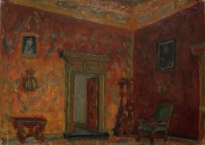 Zofia Carnelli-Jasieńska (1900-1944), Wnętrze Wawelu