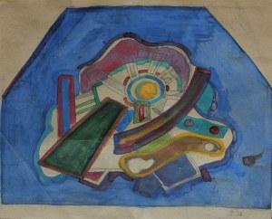 Marek Włodarski [Henryk Streng] (1903-1960), Układ abstrakcyjny (1926)