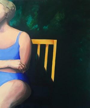 Anna Macugowska, Fragment z krzesłem, 2018