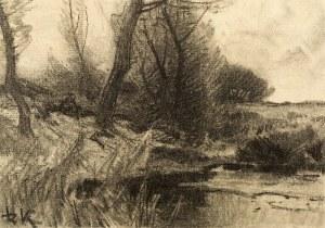 Roman Kochanowski (1857-1945), Pejzaż, pocz. XX w.