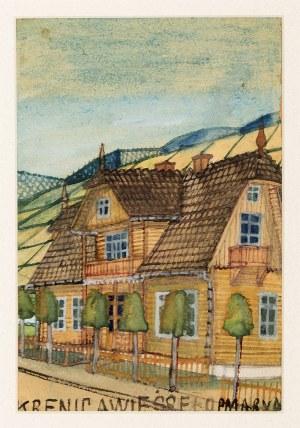 Nikifor Krynicki (1895-1968), Dom w Krynicy, nd.