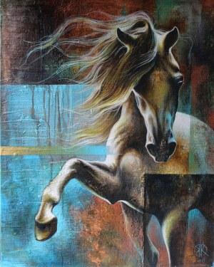 Kamila Karst, Copper horse, 2018