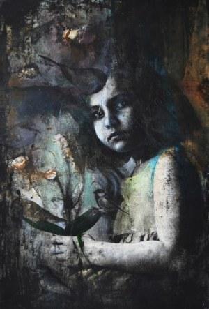 """Aneta Kowalczyk, Zmienne światło oczu z cyklu """"Nietrwałość"""" (2017)"""
