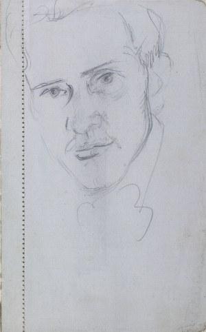 Wlastimil HOFMAN (1881-1970), Głowa młodego mężczyzny, [ok.1905]