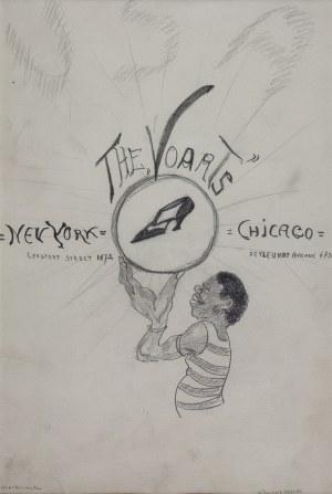 "Karol KOSSAK (1896-1975), ""The Voarts"", projekt plakatu"