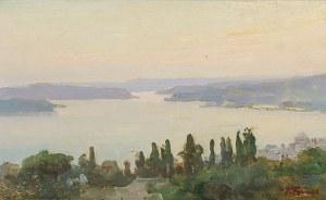 Iwan TRUSZ (1869-1940), Widok na Bosfor