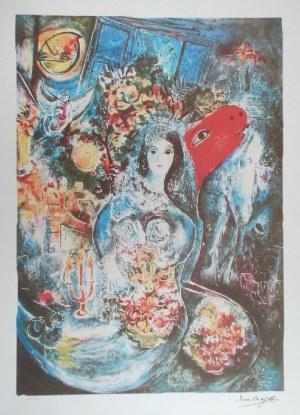 Marc CHAGALL (1887-1985) - według, Kobieta