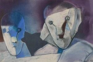 Stasys EIDRIGEVICIUS (ur. 1949), Głowy, 1993