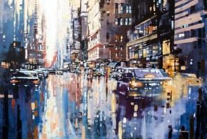 Piotr Zawadzki, Szumy miasta, NYC - królestwo słońca #26, 2018