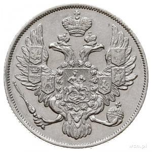 3 ruble 1829 СПБ, Petersburg, platyna 10.30 g, Bitkin 7...