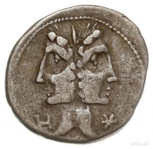 C. Fonteius 114-113 pne, denar 114-113 pne, Rzym, Aw: D...