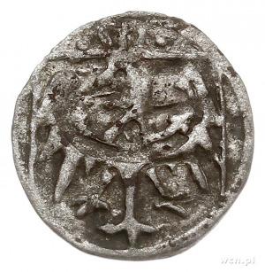 Maciej Korwin 1471-1490, halerz miejski, Wrocław, Aw: D...