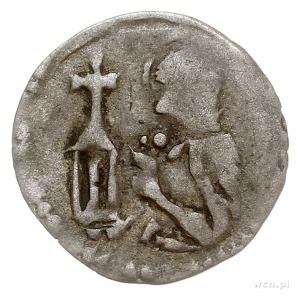 Ks. Legnicko-Brzeskie, Ludwik I 1358-1399, halerz przed...