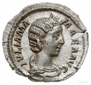 Julia Mamæa (matka Aleksandra Sewera), denar 226, Rzym,...