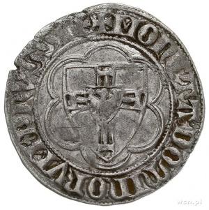 Winrych von Kniprode 1351-1382, półskojec, Aw: Tarcza W...