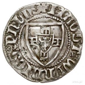 Winrych von Kniprode 1351-1382, szeląg, Aw: Tarcza Wiel...