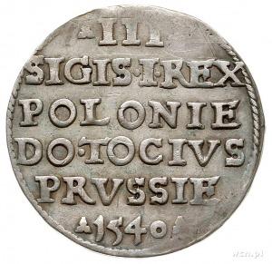 trojak 1540, Elbląg, Iger E.40.1.a (R2), T. 2