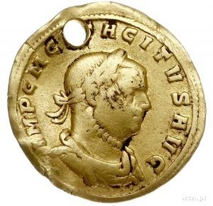 Tacyt 275-276, naśladownictwo aureusa, Aw: Popiersie ce...
