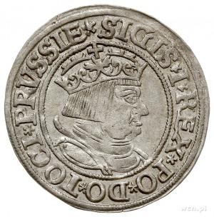grosz pruski 1534, Toruń, PN.13-Dut.105, bardzo ładny