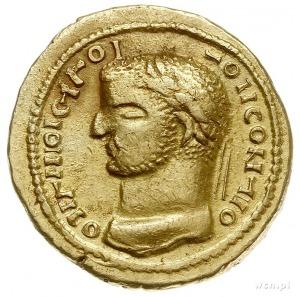 Indyjskie naśladownictwo aureusa Dioklecjana (lub inneg...
