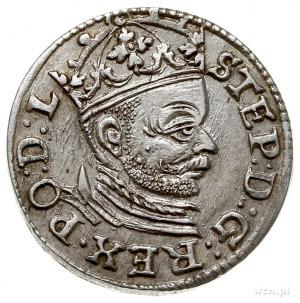 trojak 1583, Ryga, Iger R.83.1.a (R1), Gerbaszewski 16,...