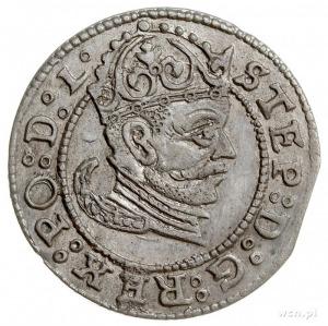grosz 1583, Ryga, Gerbaszewski 3, bardzo starannie wybi...