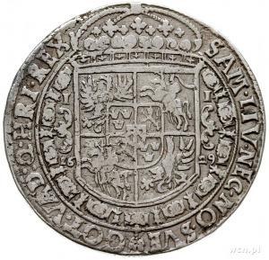 talar 1629, Bydgoszcz, Aw: Popiersie w prawo, poniżej h...