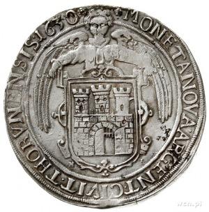 talar 1630, Toruń, Aw: Półpostać króla w prawo i napis ...