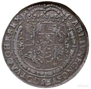 talar 1631, Bydgoszcz, Aw: Wąska półpostać króla w praw...
